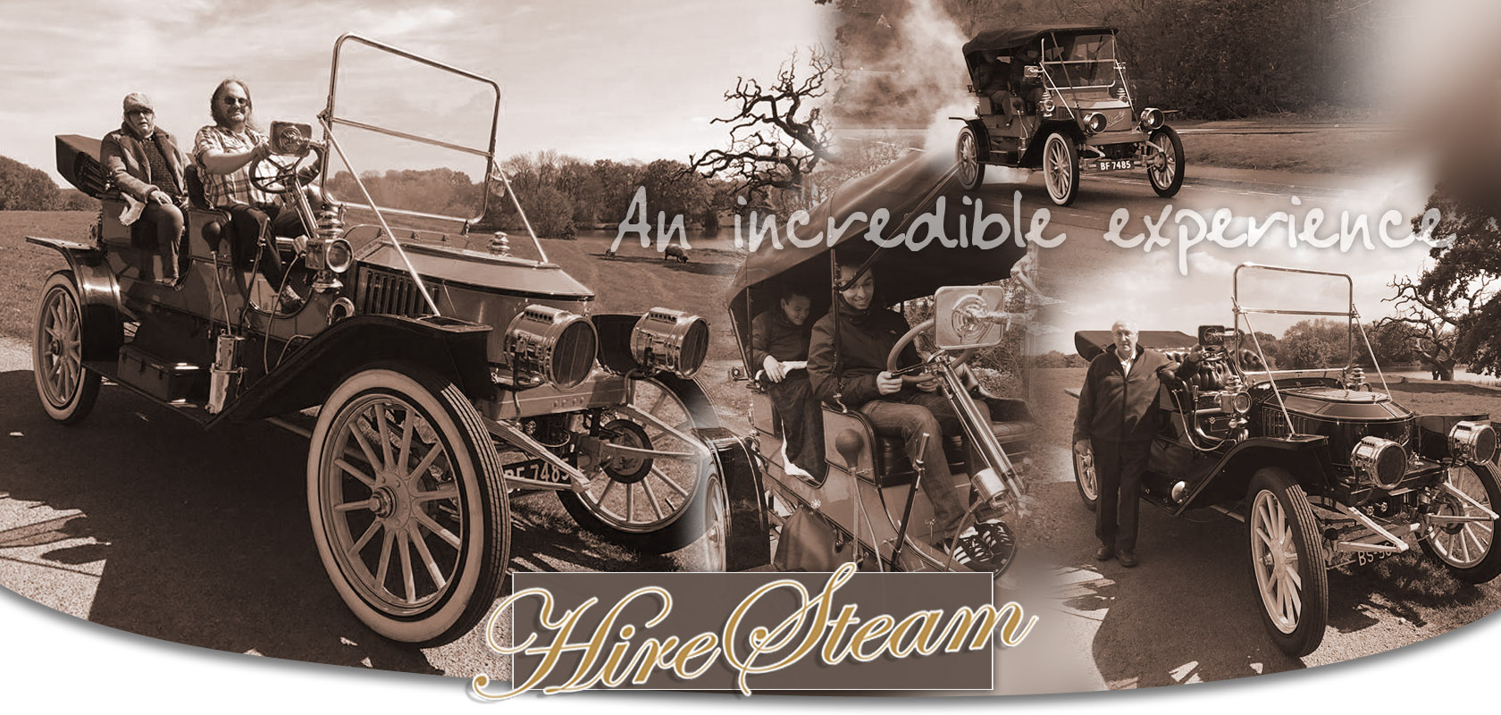 Drive A Steam Car