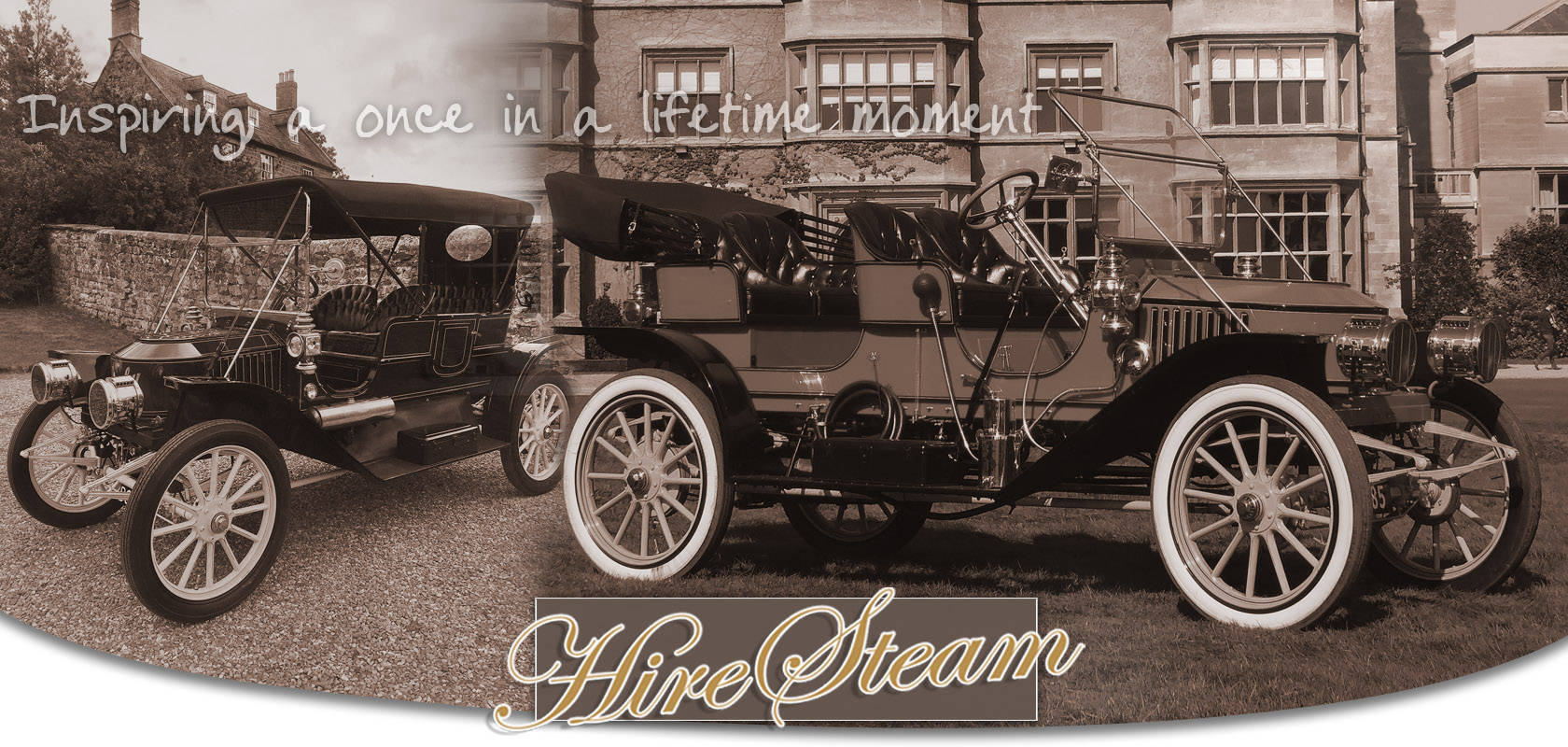 Stanley Steam Car Hire